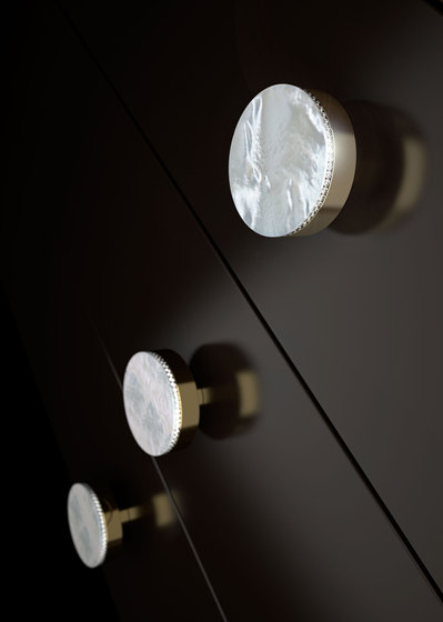 Perla Lux by Glass Design | Cabinet knobs