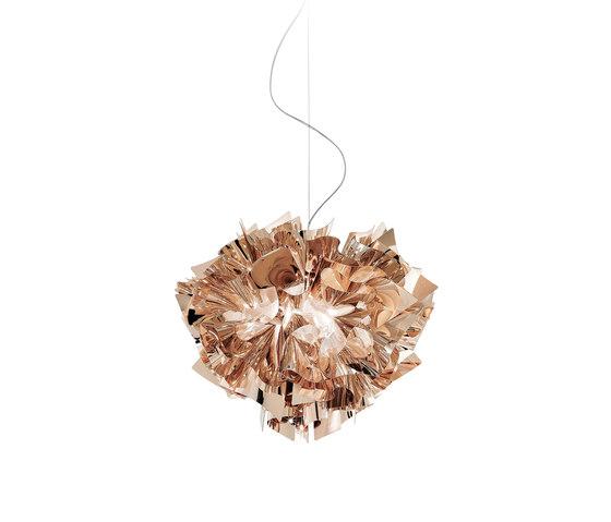 Veli Copper suspension von Slamp | Pendelleuchten
