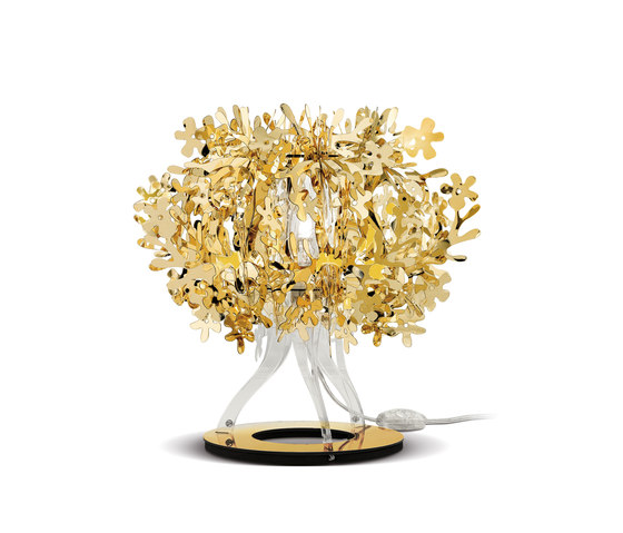 Fiorellina Gold table by Slamp | Table lights