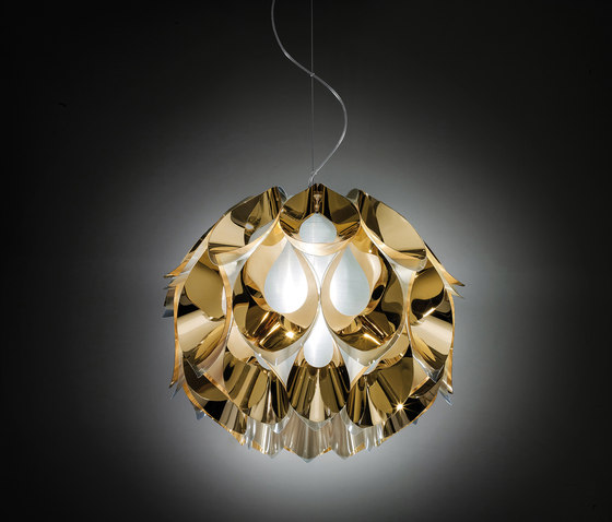 Flora Gold suspension medium de Slamp | Éclairage général