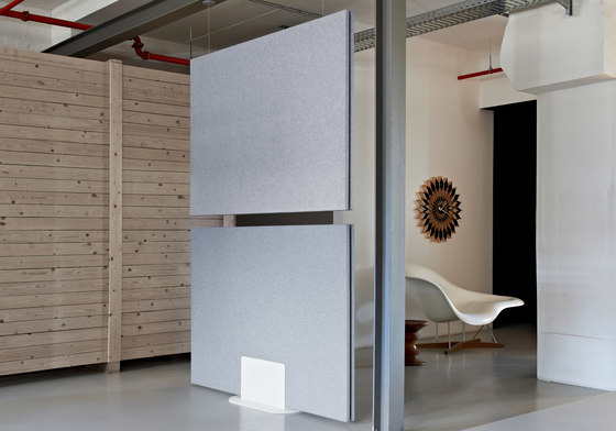 Mobile partition solutions by acousticpearls | Privacy screen