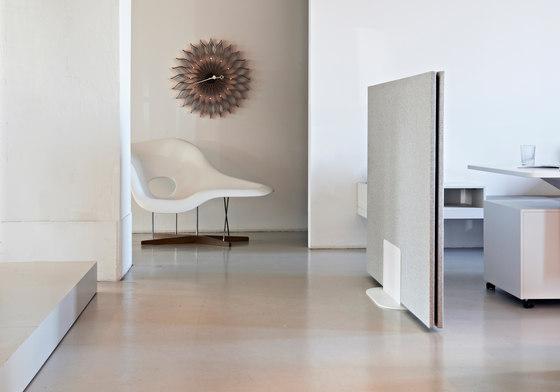 Mobile partition solutions di acousticpearls | Sistemi divisori stanze