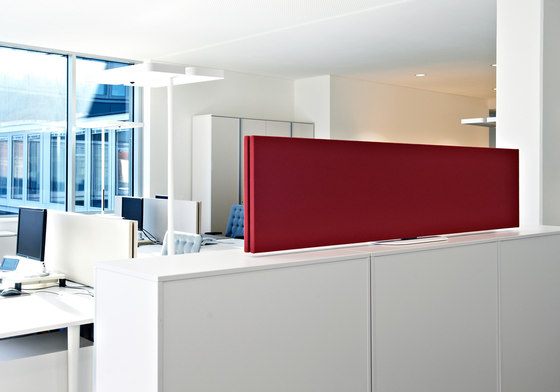 Effective desktop solutions by acousticpearls | Table dividers