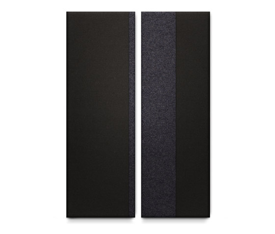 No. 01 Back to Black de acousticpearls | Paneles de pared