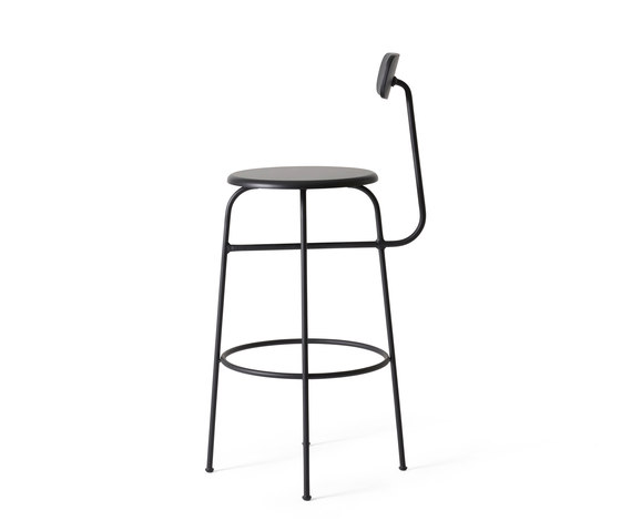 Afteroom Bar Chair | Black by MENU | Bar stools