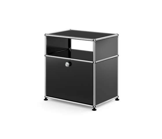 usm haller nachttisch 2 nachttische von usm architonic. Black Bedroom Furniture Sets. Home Design Ideas