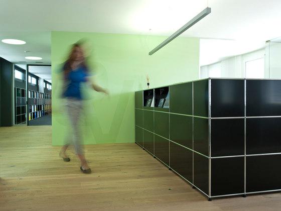 USM Haller Reception station by USM | Cabinets