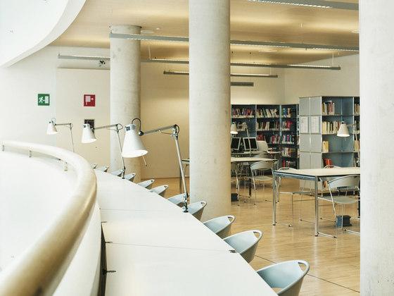 USM Haller Tisch Kunstharz von USM | Lesetische / Studiertische