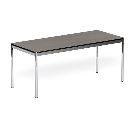 usm haller table linoleum by usm product. Black Bedroom Furniture Sets. Home Design Ideas