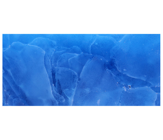 Bio-Glass Aquamarine by COVERINGSETC | Decorative glass