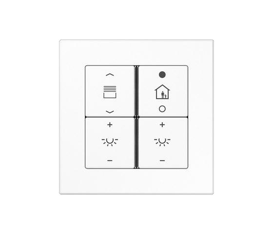 KNX push-button sensor F 40 A creation di JUNG | Gestione persiane / veneziane