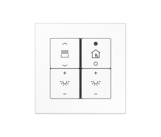 KNX push-button sensor F 40 A creation di JUNG | Gestione di persiane / avvolgibili