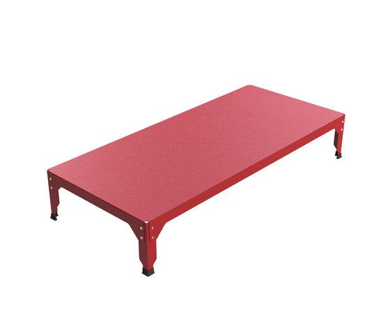 Hegoa side table de Matière Grise | Mesas de centro