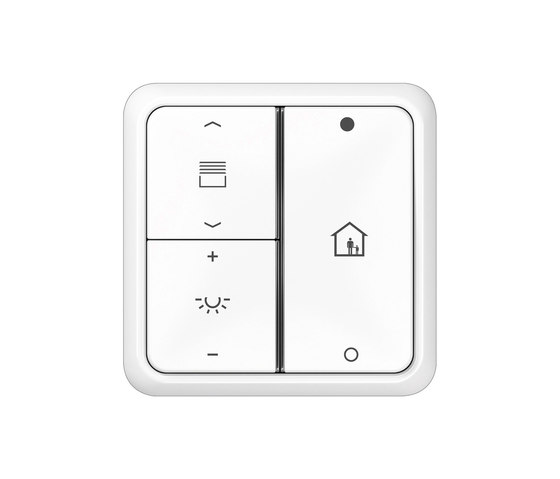 KNX push-button sensor F 40 CD 500 by JUNG | KNX-Systems