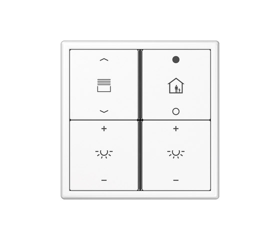 KNX push-button sensor F 40 LS 990 by JUNG | KNX-Systems