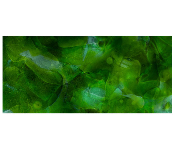 Bio-Glass Malachite by COVERINGSETC | Decorative glass