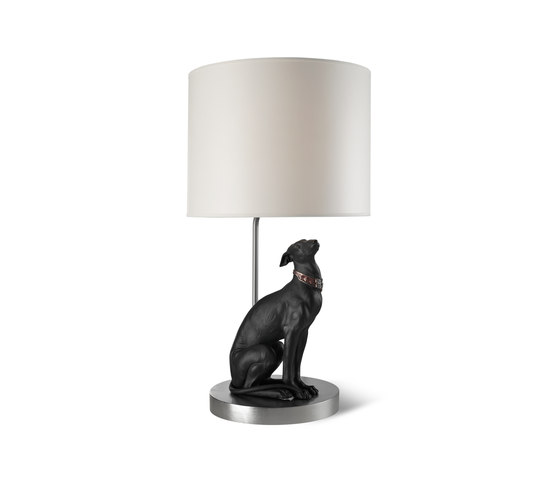 Attentive Greyhound - Lamp by Lladró | General lighting