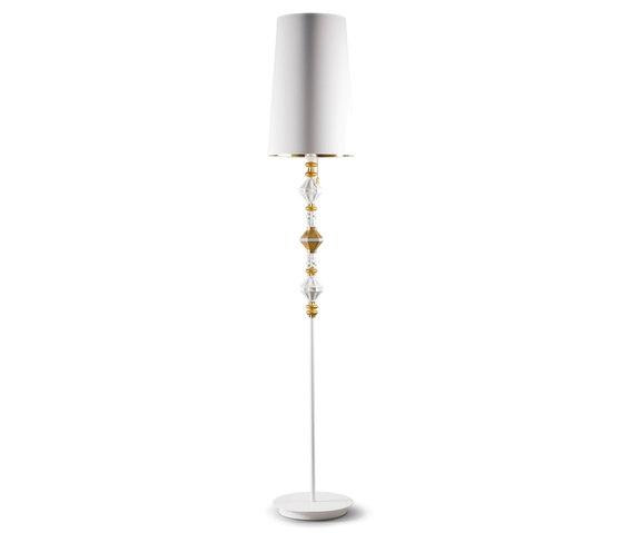 Belle de Nuit - Floor lamp II (gold) by Lladró   General lighting