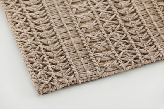 Knotwork Rug Natural 1 by GAN | Rugs