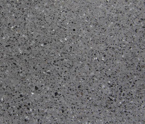 Eco-Terr Slab Black Sand polished di COVERINGSETC | Lastre pietra naturale