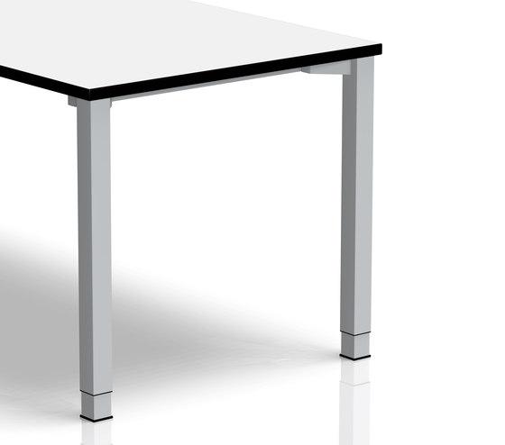 Rondana Desk range | Frame by Assmann Büromöbel | Contract tables