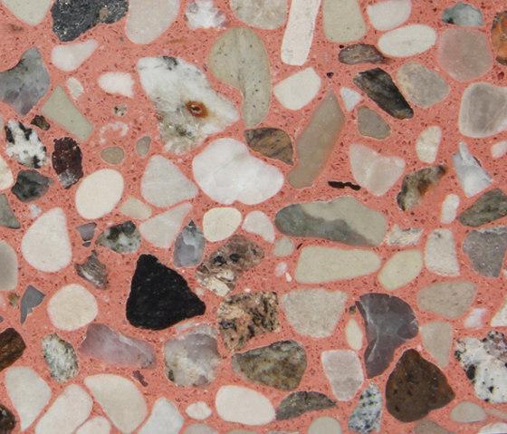 Eco-Terr Tile Morrocan Red de COVERINGSETC | Panneaux en pierre naturelle