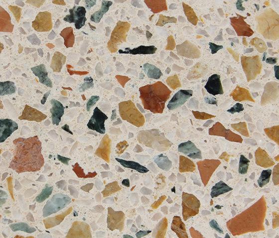 Eco-Terr Tile Ocean Gem de COVERINGSETC | Panneaux en pierre naturelle