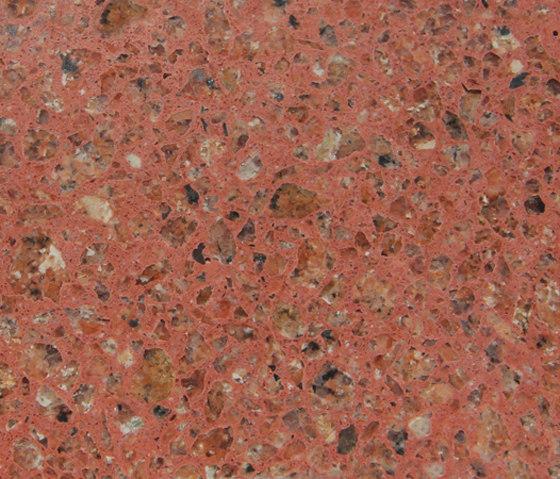 Eco-Terr Tile Porfirio Red de COVERINGSETC   Panneaux en pierre naturelle