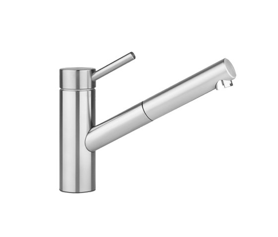 KWC INOX Lever mixer|Pull-out aerator by KWC | Kitchen taps