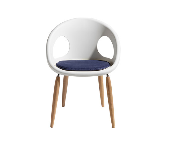 Natural Drop with cushion by Scab Design | Chairs