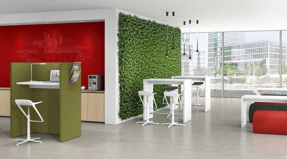 Syneo Lounge furniture by Assmann Büromöbel | Cafeteria tables
