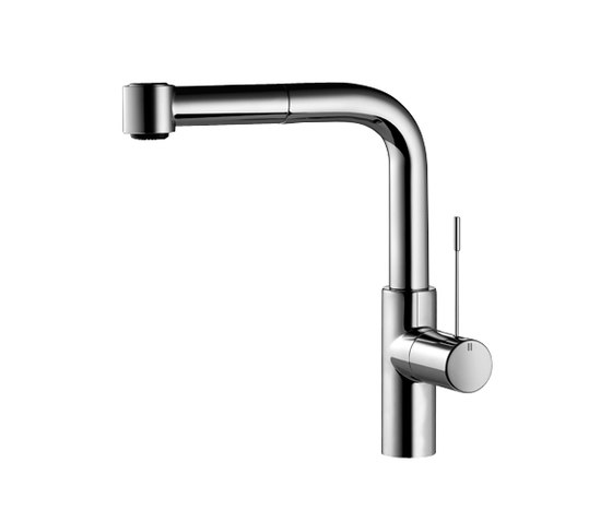 KWC ONO Lever mixer Pull-out spray with KWC JETCLEAN by KWC   Kitchen taps