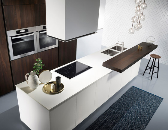 One by Ernestomeda | Fitted kitchens