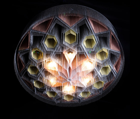 Mandala No.2 - 1000 - suspended by Willowlamp   Suspended lights