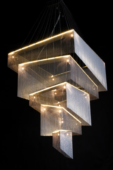 Geometric Storm - 1200x900 by Willowlamp | Suspended lights