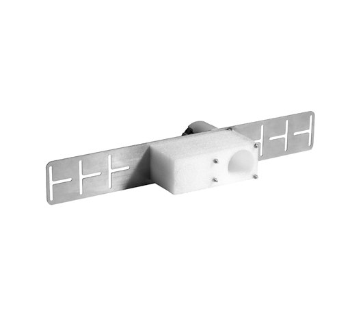 KWC ONO touch light PRO Concealed unit wall two hole by KWC | Concealed elements