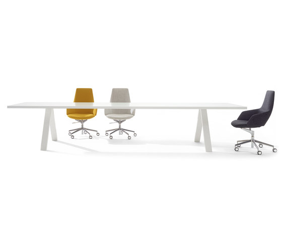 Cross Table by Arper | Contract tables