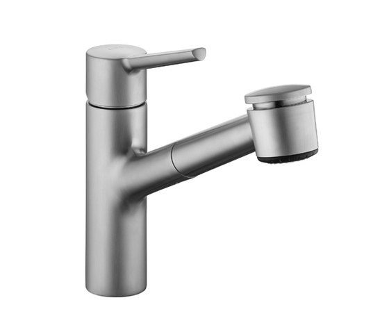 KWC LUNA Lever mixer|Pull-out spray with KWC JETCLEAN by KWC | Kitchen taps