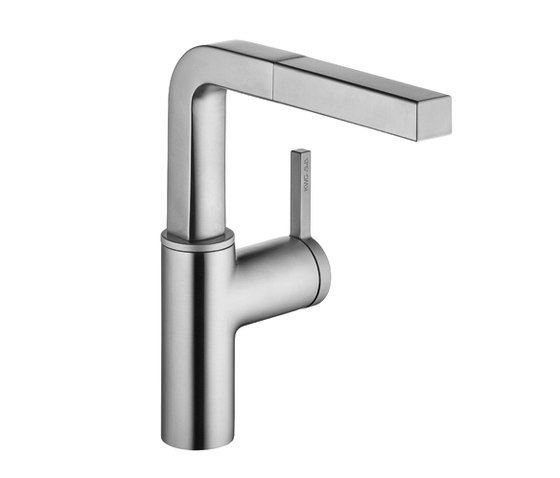 KWC AVA Lever mixer|Pull-out aerator by KWC | Kitchen taps