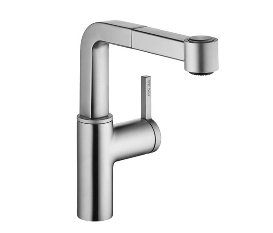 KWC AVA Lever mixer|Pull-out spray with KWC JETCLEAN by KWC | Kitchen taps