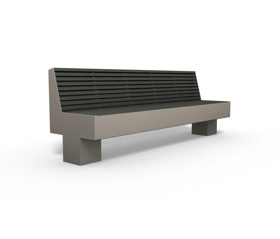 Comfony 800 Bench 2410 by BENKERT-BAENKE | Benches