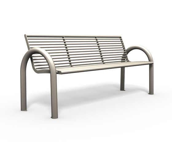 Siardo 150R bench by BENKERT-BAENKE | Benches