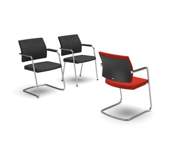 yosteris3 550y besucherst hle von interstuhl b rom bel gmbh co kg architonic. Black Bedroom Furniture Sets. Home Design Ideas