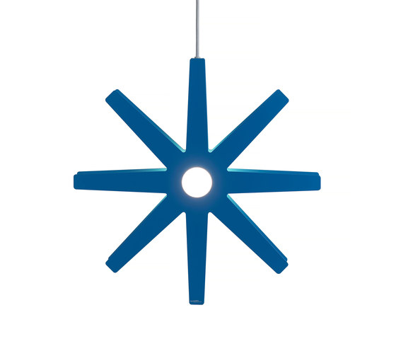 Fling 78 pendant large blue by Bsweden | Suspended lights