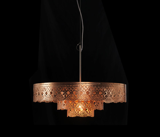 Gladys Chandelier copper by Bsweden | General lighting