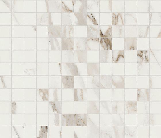 Anima Dekore Composizione F | Calacatta Oro von Caesar | Keramik Fliesen