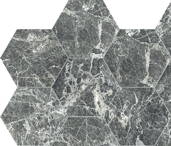 Anima Dekore Esagono | Grey St.Laurent von Caesar | Keramik Fliesen