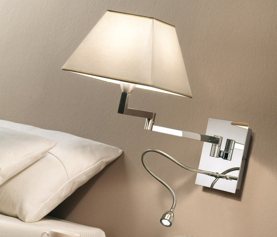 Carlota double wall light by BOVER | Wall lights