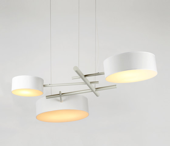Excel Chandelier (White) by Roll & Hill | Suspended lights