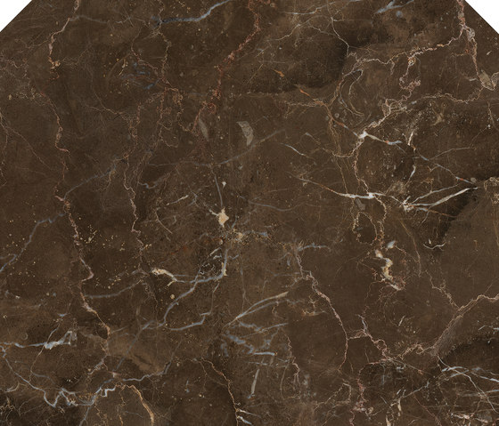 Anima Decors Ottagono | Dark Emperador by Caesar | Floor tiles